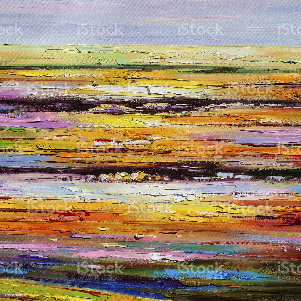 Color painting wall background stock photo