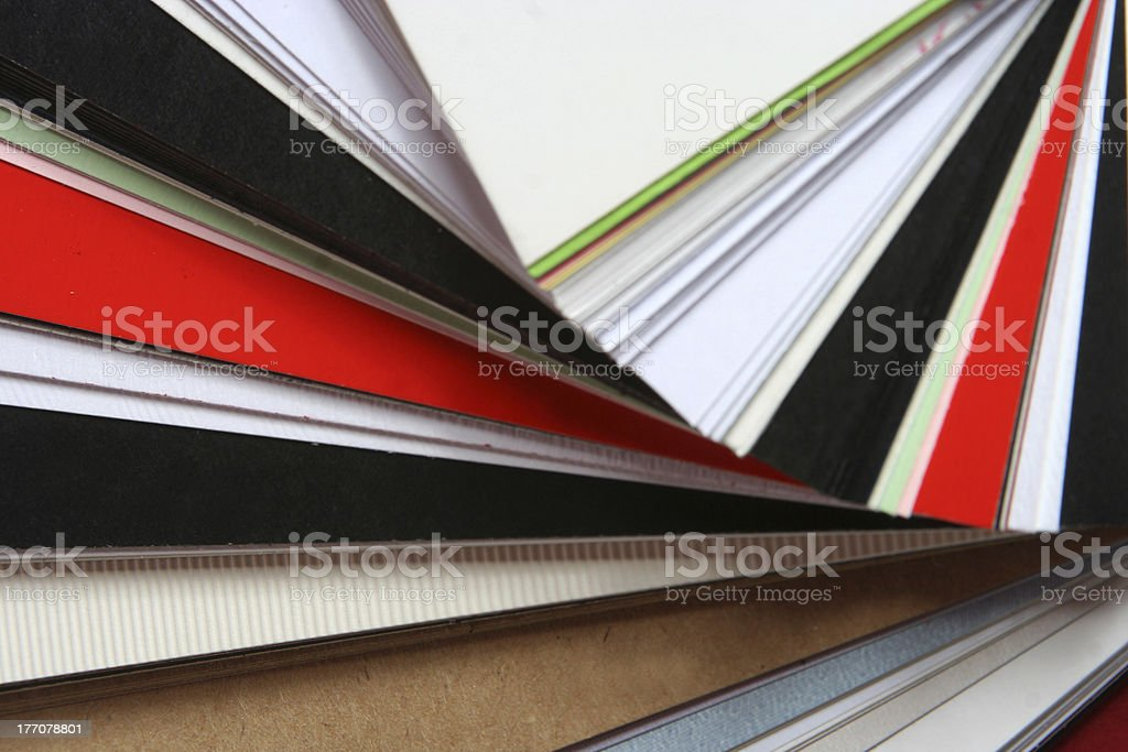 Color Palette royalty-free stock photo