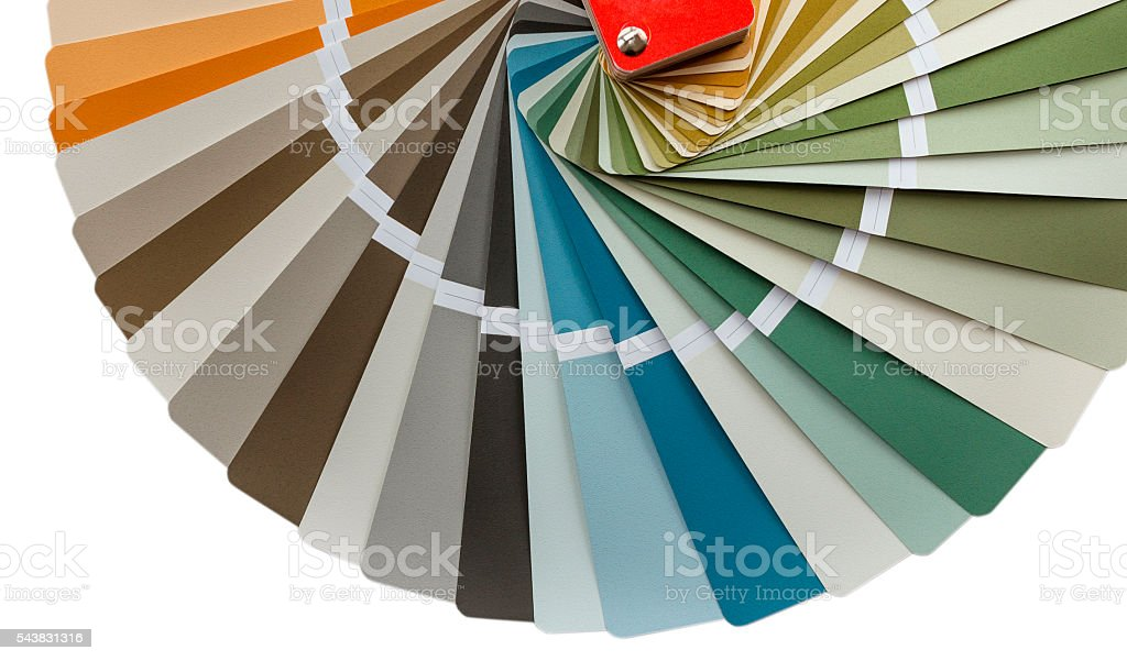 color palette stock photo