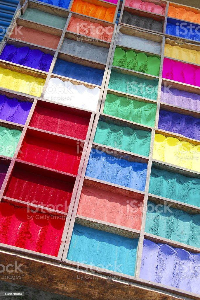 Color Palettes royalty-free stock photo