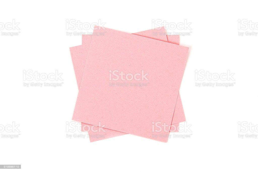 Cor de papel isolado em fundo branco foto de stock royalty-free