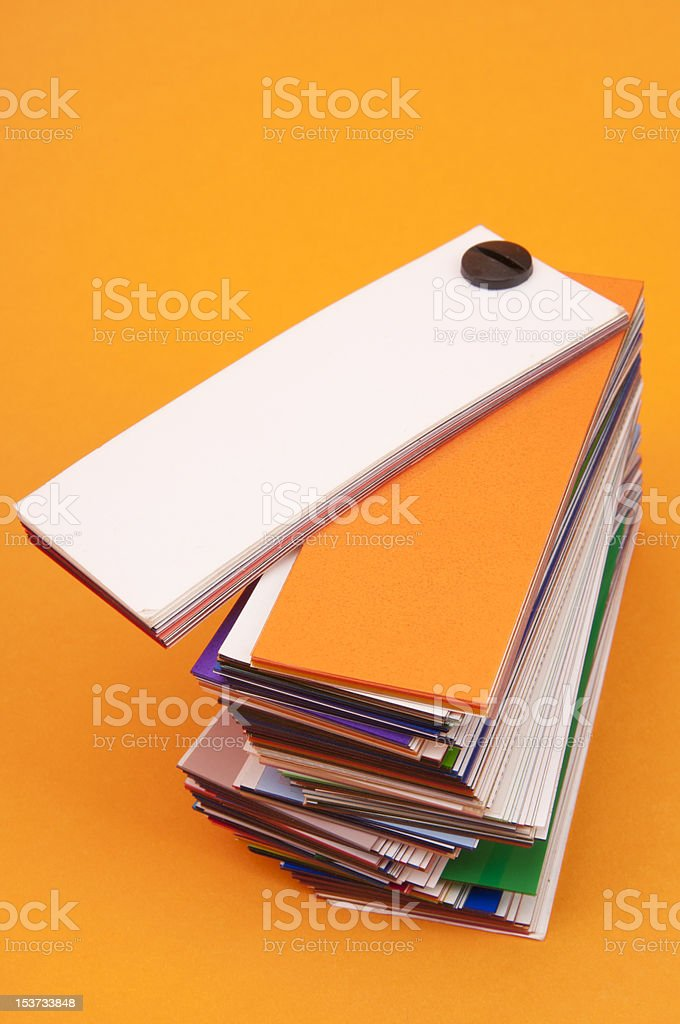 color paper pattern stock photo