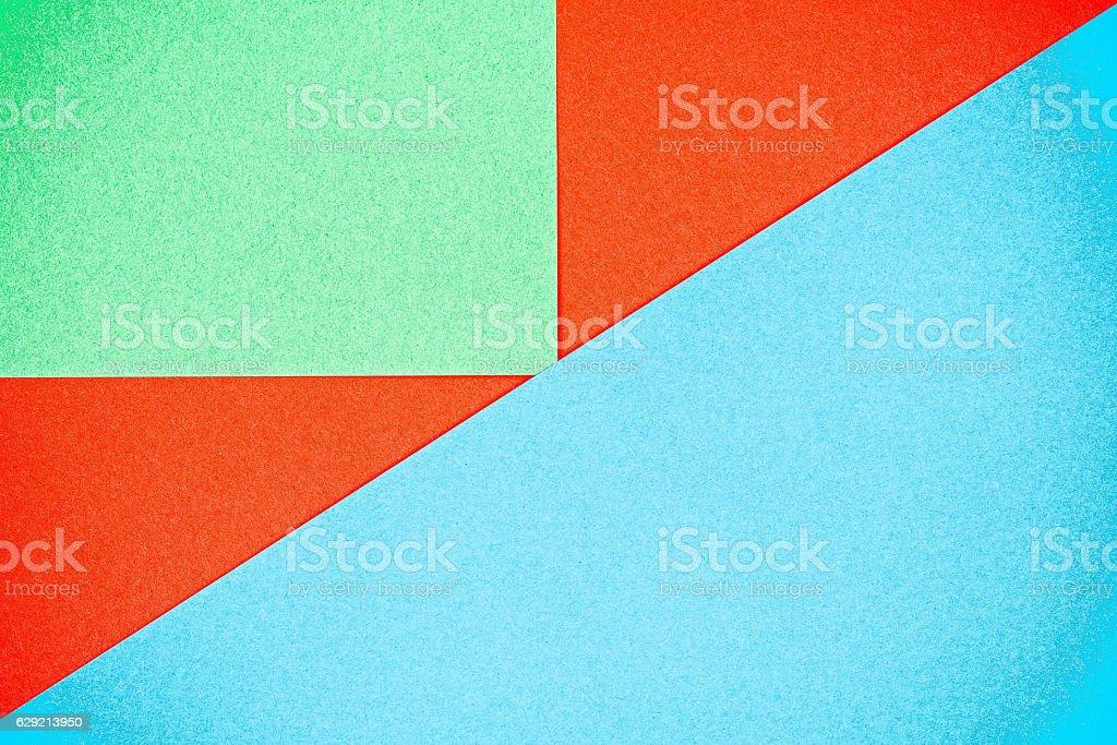 Color paper puzzle stock photo
