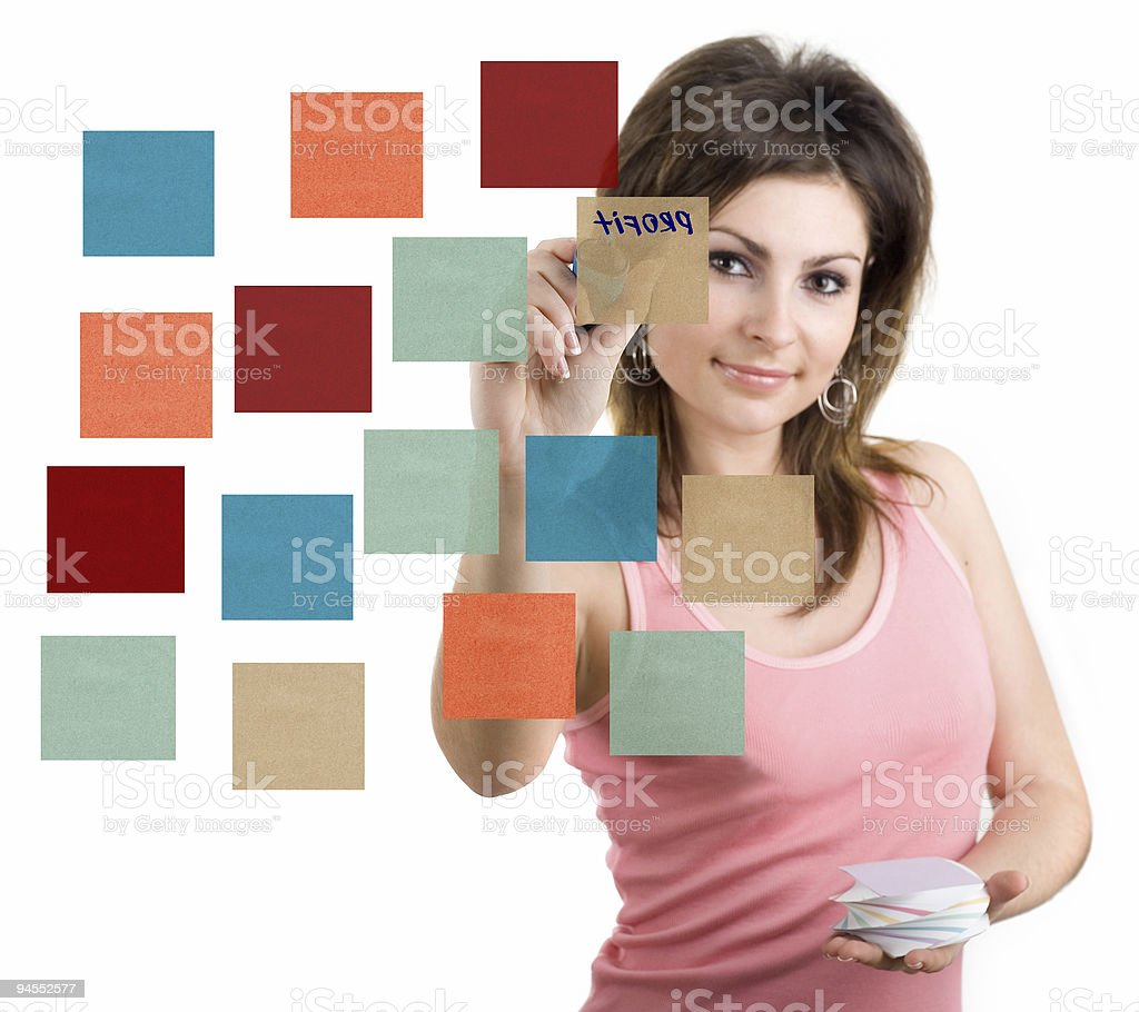 Color papers royalty-free stock photo