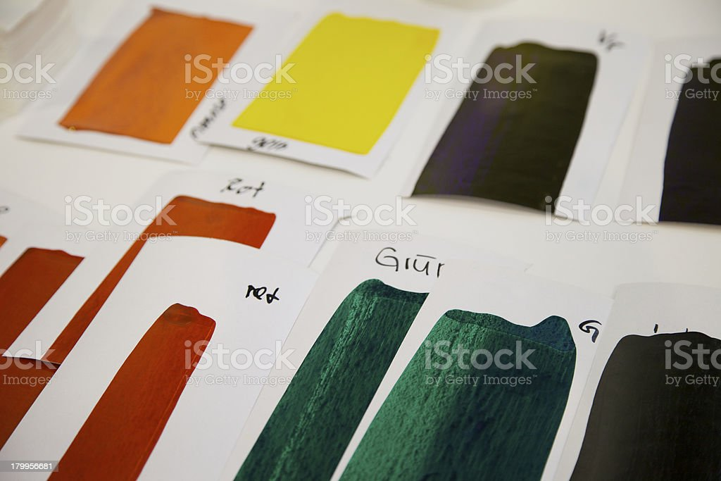 Color Patterns royalty-free stock photo