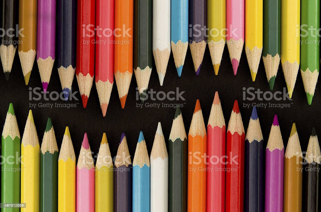Color Pencil royalty-free stock photo