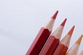 Color Pencils of various colors