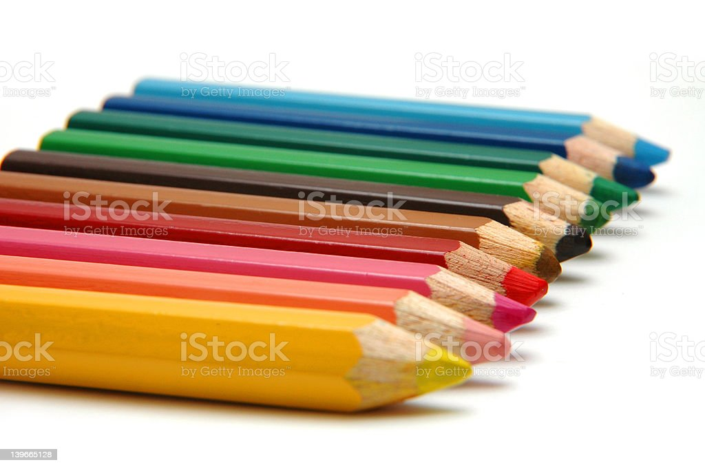 Color Pencils2 royalty-free stock photo