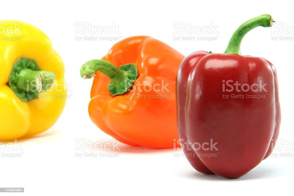 color peppers royalty-free stock photo