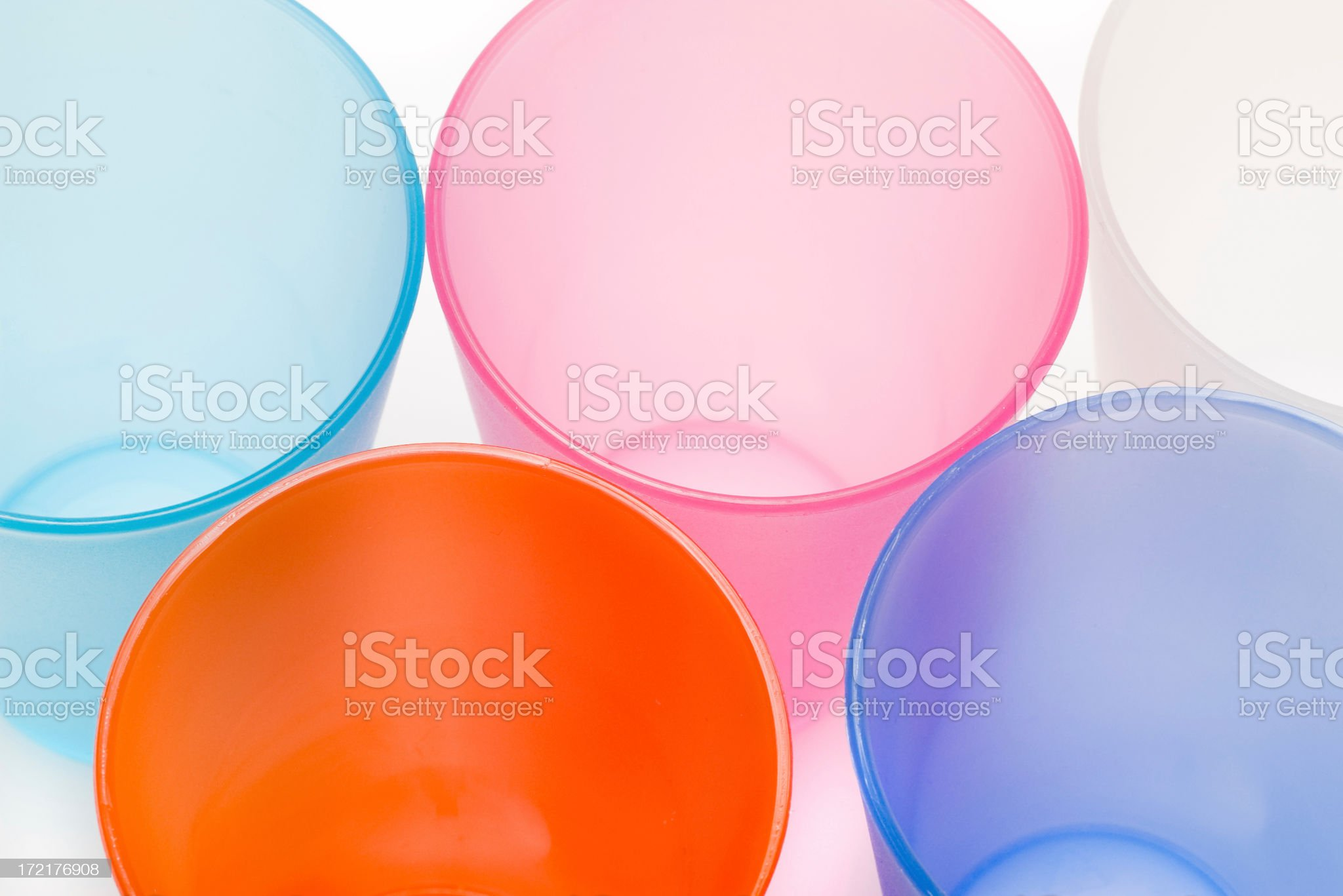 Color plastic royalty-free stock photo