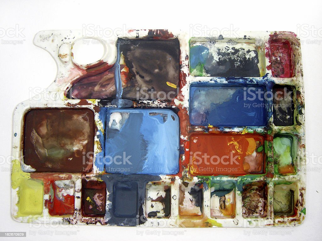 color plate royalty-free stock photo