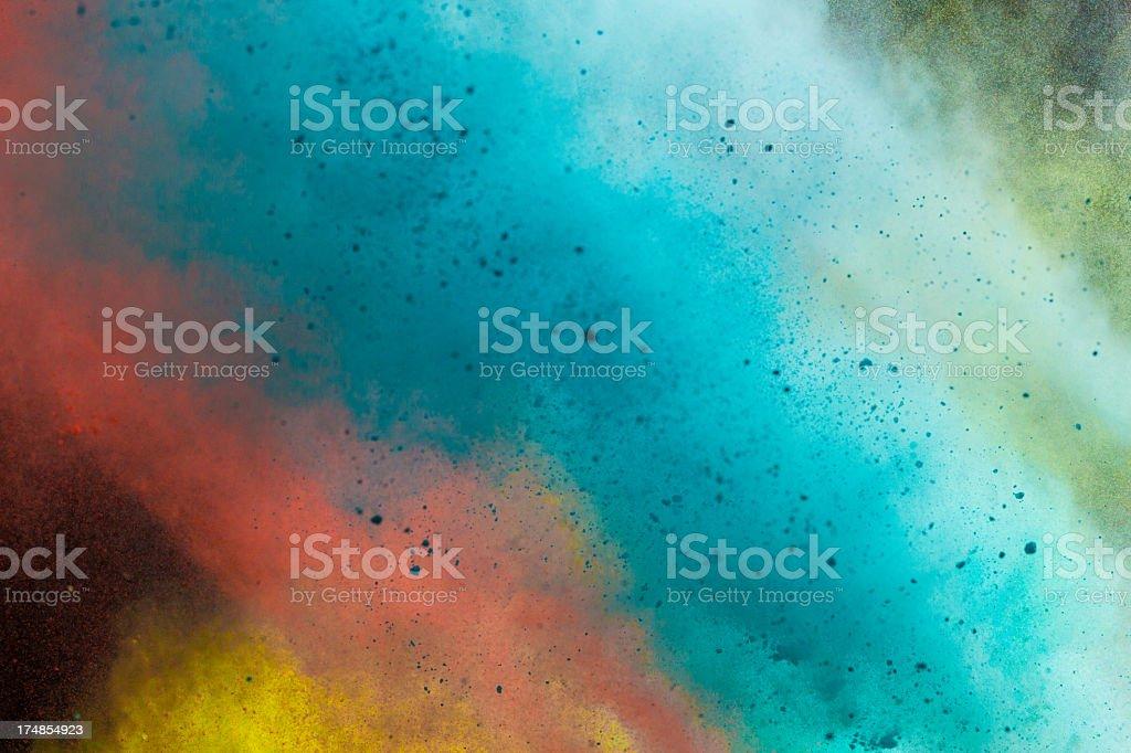 Color Powder - Holi Festival royalty-free stock photo