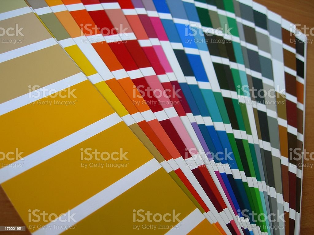 Color Range royalty-free stock photo