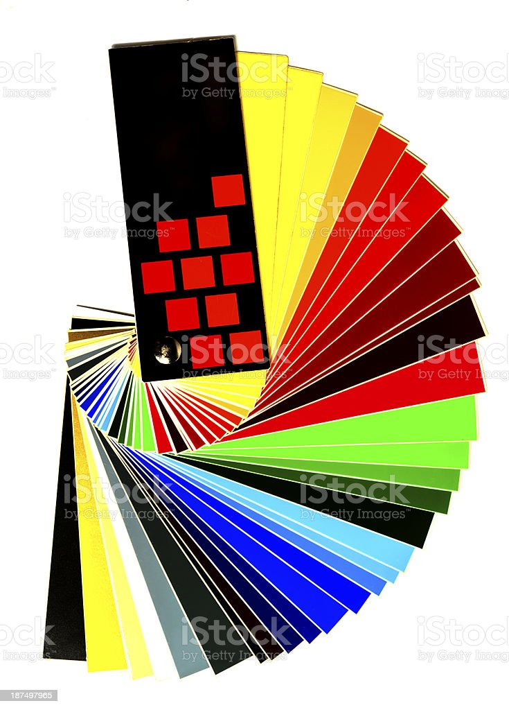 color sample royalty-free stock photo