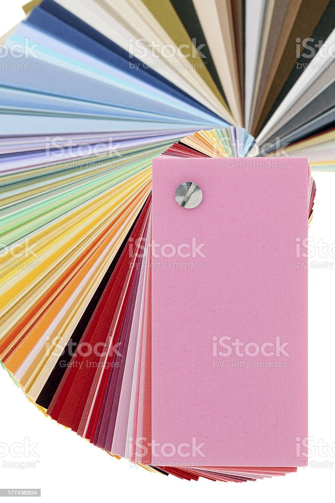 Color samples royalty-free stock photo