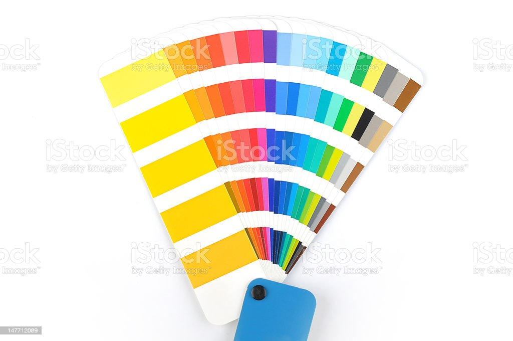 color scale stock photo