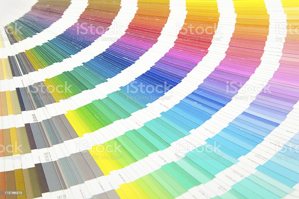 color scale royalty-free stock photo