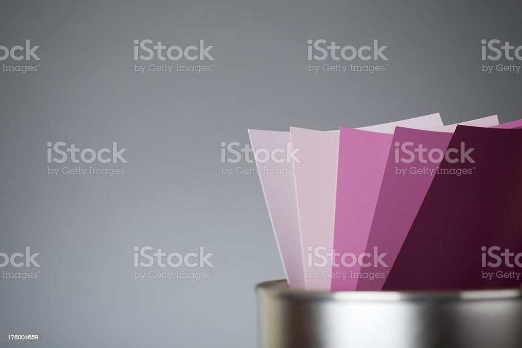 Color scale PINK royalty-free stock photo