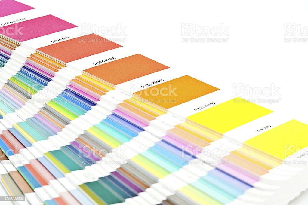 Color scheme stock photo