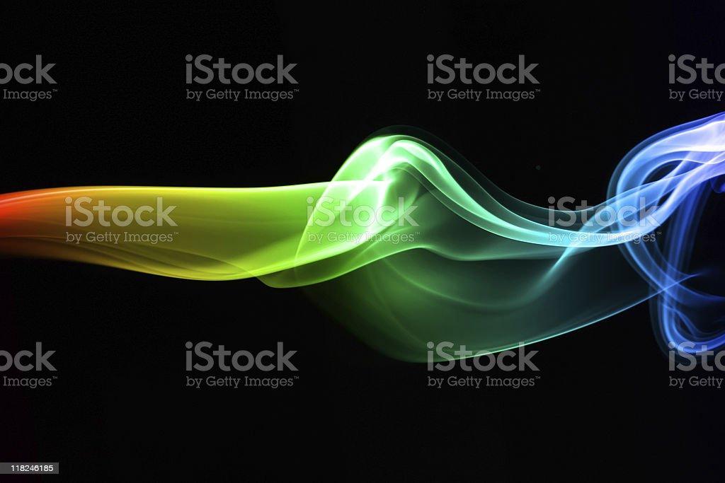 Color smoke stock photo