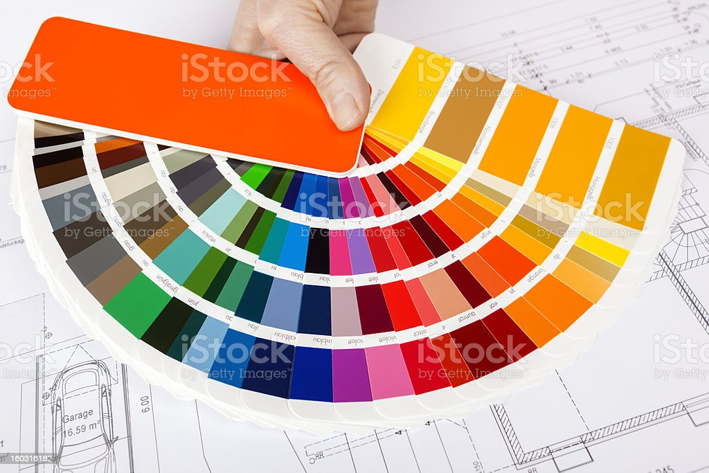 Color Swatch vector art illustration