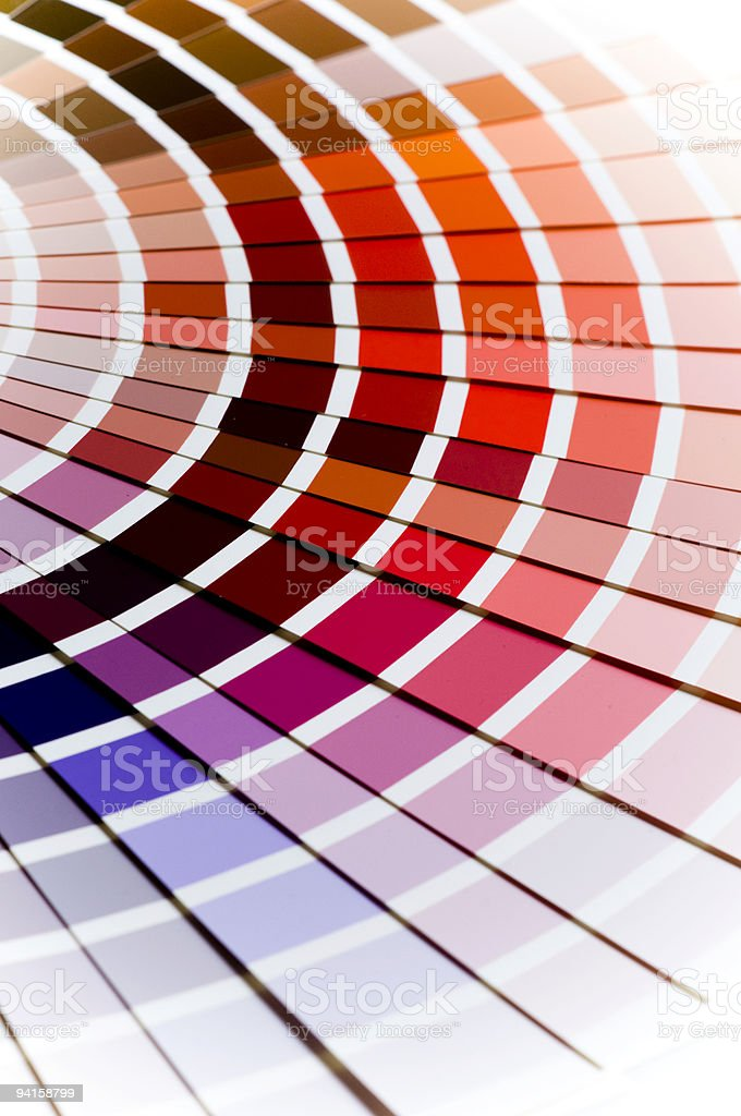 Color Swatch royalty-free stock photo