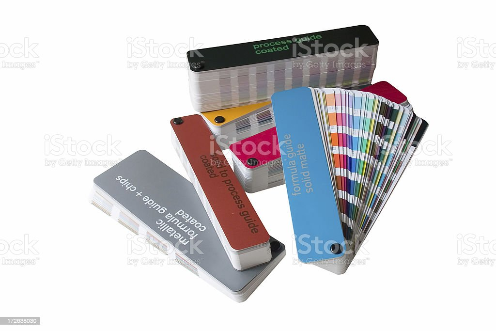Color Swatchbook Set stock photo