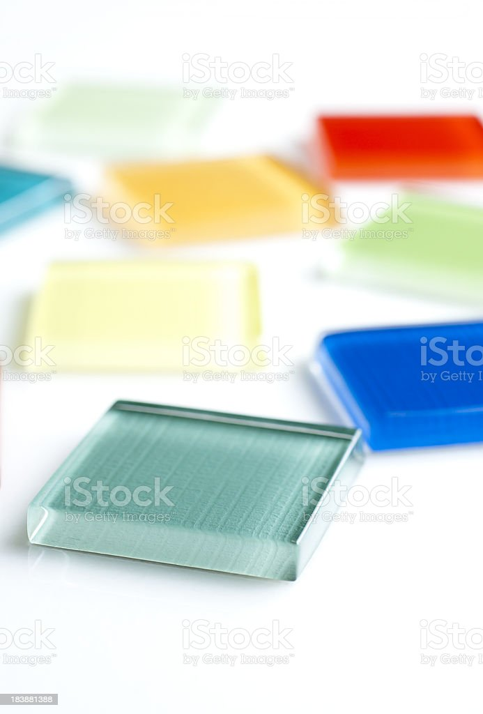 Color Tile stock photo