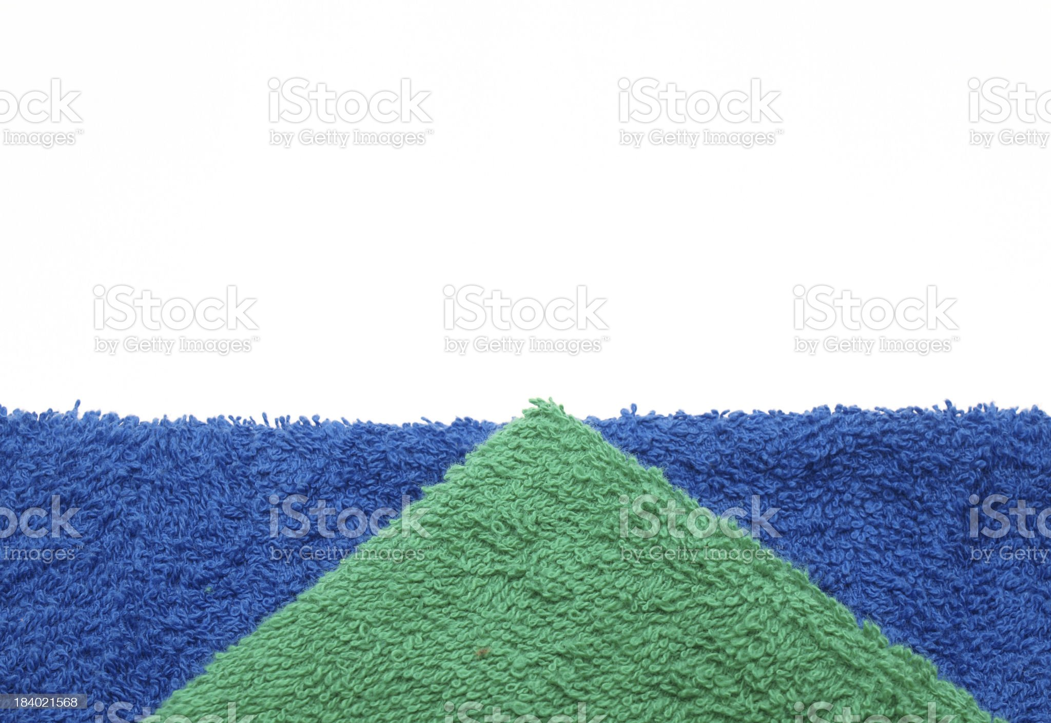 Color towels royalty-free stock photo