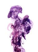Color toxic smoke.