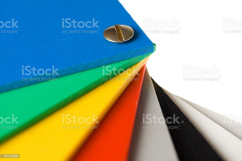 Color wheel stock photo