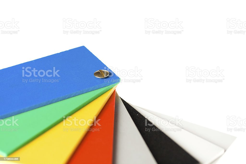 Color wheel royalty-free stock photo
