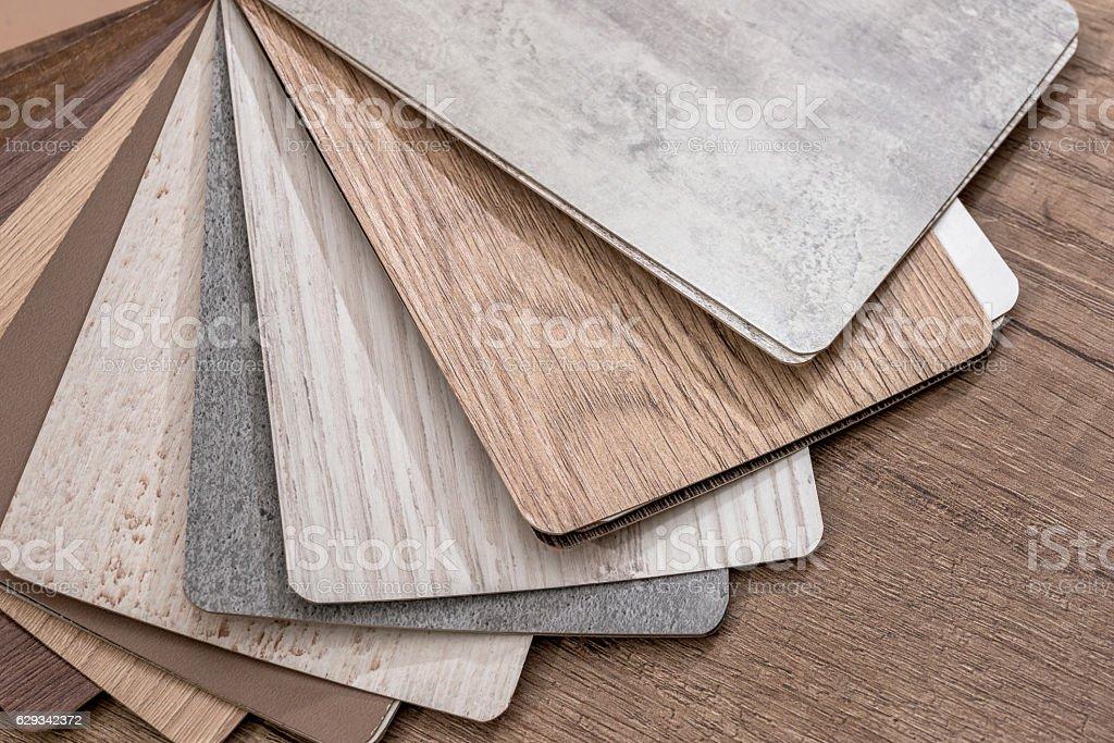 Color wood texture palette guide stock photo