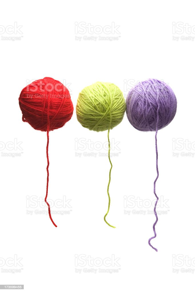 color wools royalty-free stock photo