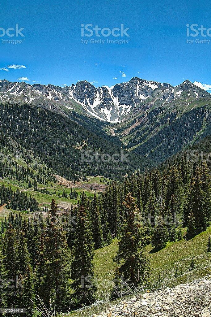 Colorado Alps stock photo