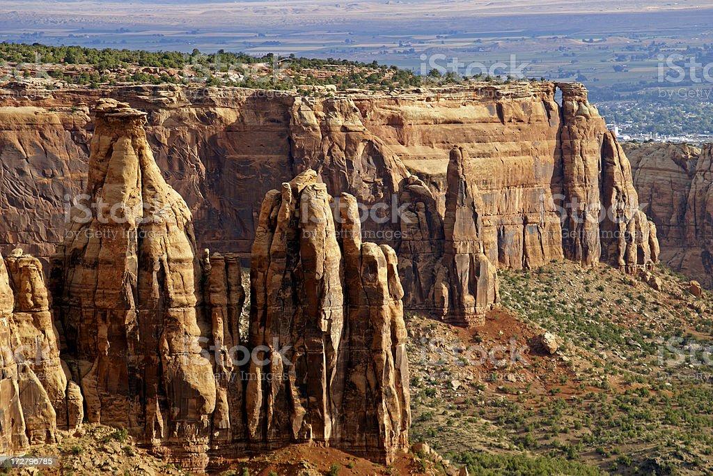 Colorado Canyon stock photo