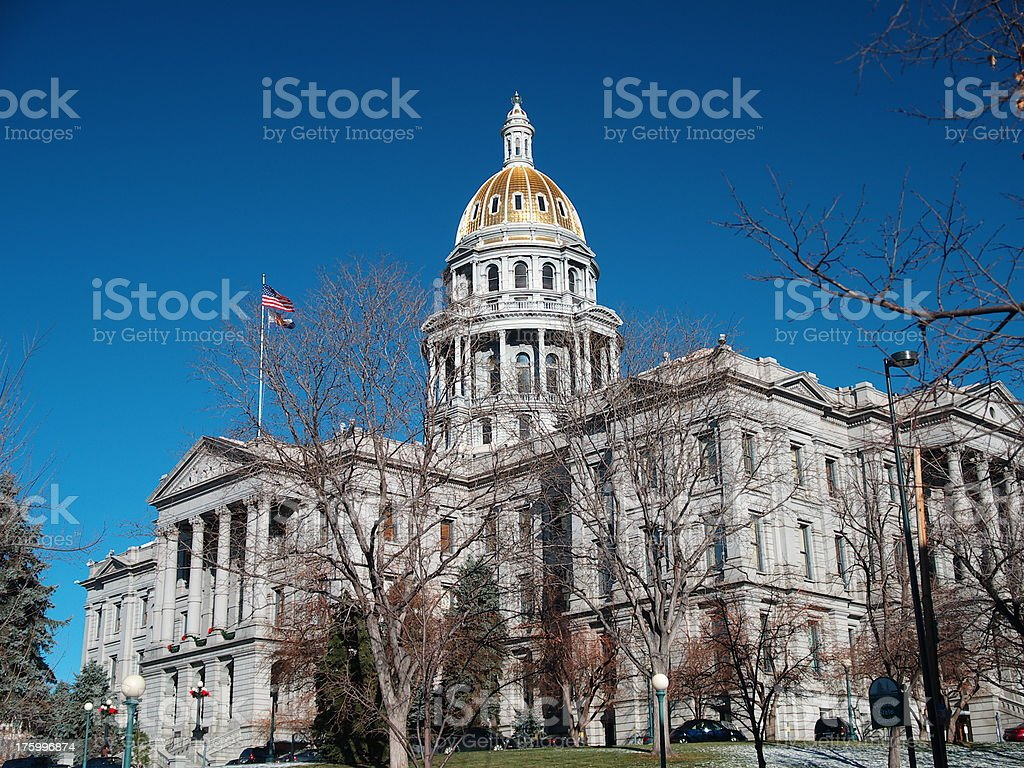 Colorado Capitol stock photo
