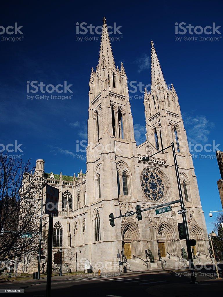 Colorado cathedral royalty-free stock photo