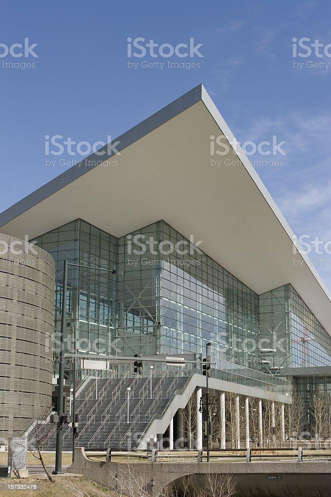 Colorado Convention Center Downtown Denver stock photo