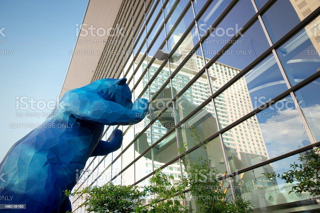 Colorado Convention Center in Denver stock photo