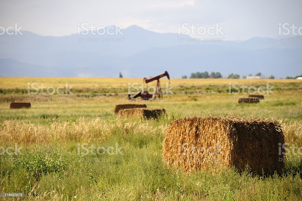 Colorado Farm royalty-free stock photo