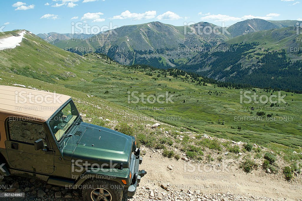 Colorado Four Wheeling stock photo