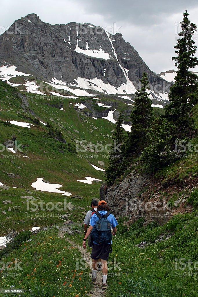 Colorado - Hiking stock photo
