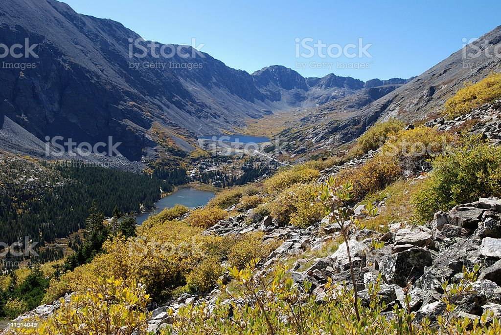 Colorado in the Fall royalty-free stock photo