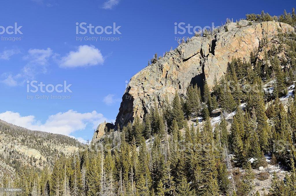Colorado Landscape royalty-free stock photo