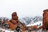 Colorado landscape, Red Rocks.