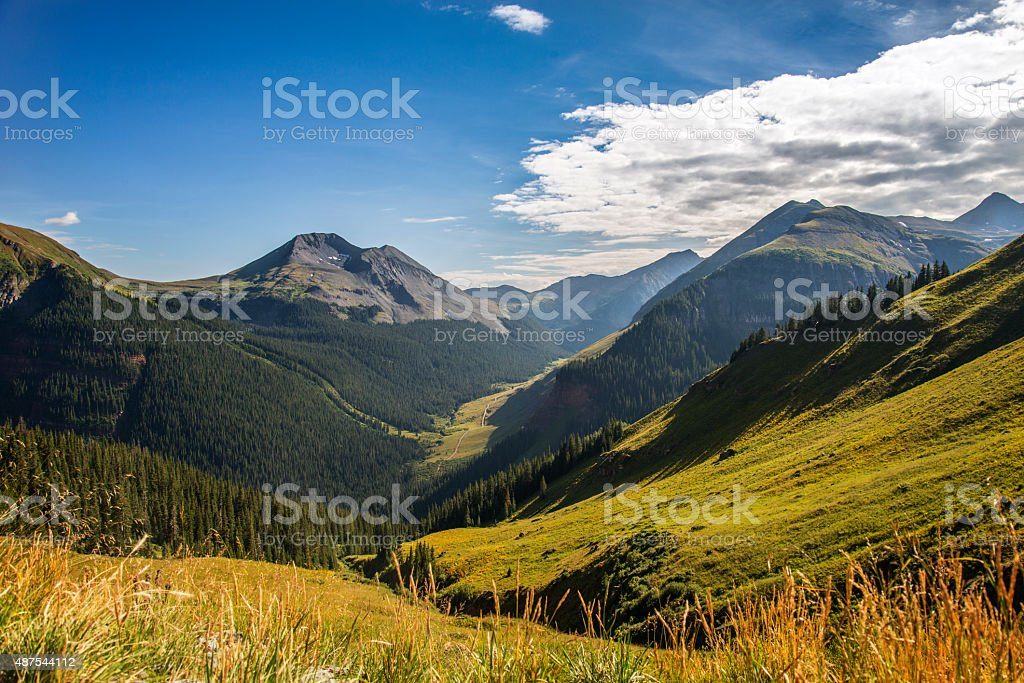 Colorado Mountains stock photo