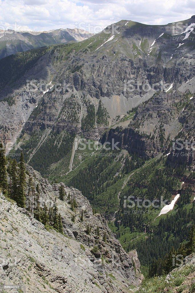 Colorado - Mountains stock photo