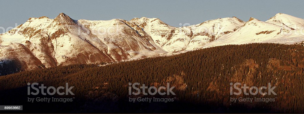 Colorado mountains royalty-free stock photo