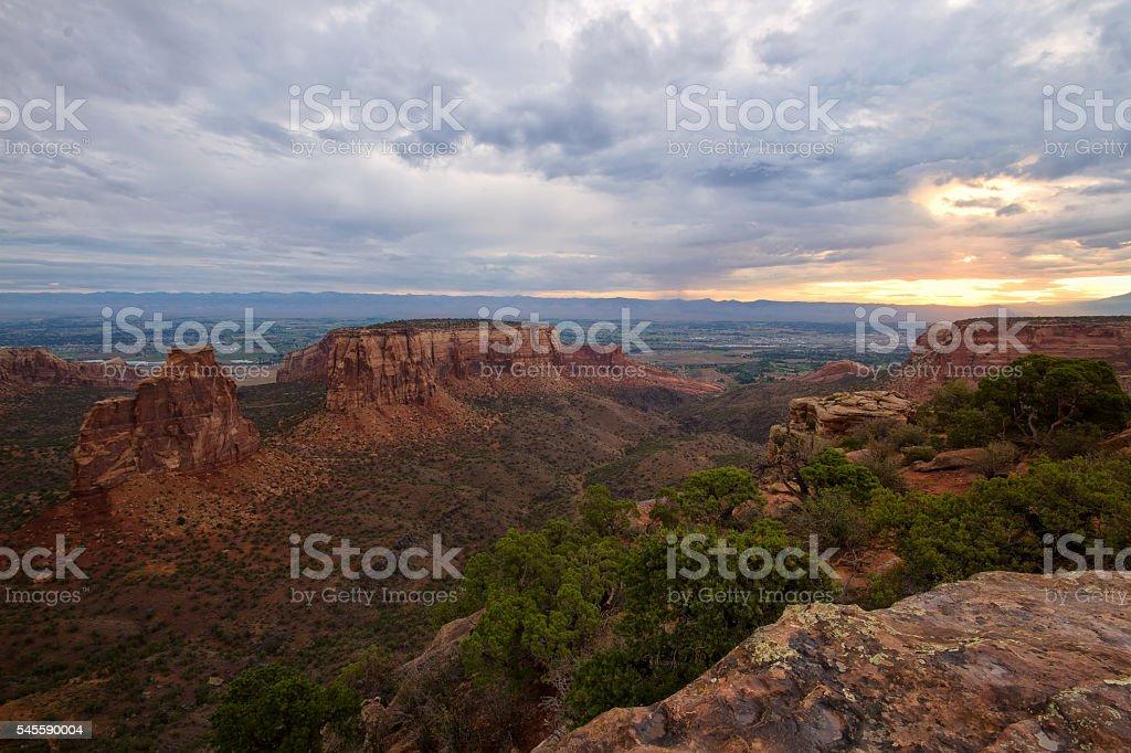 Colorado National Monument, Colorado stock photo